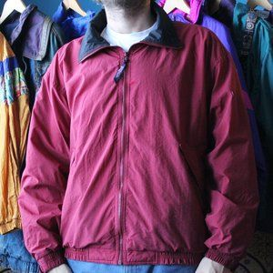 Vintage Jansport Windbreaker Jacket Embroidered